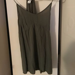Old navy olive green tank top
